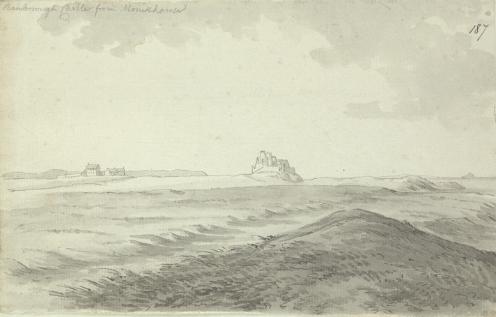 Bamburgh Castle f.187